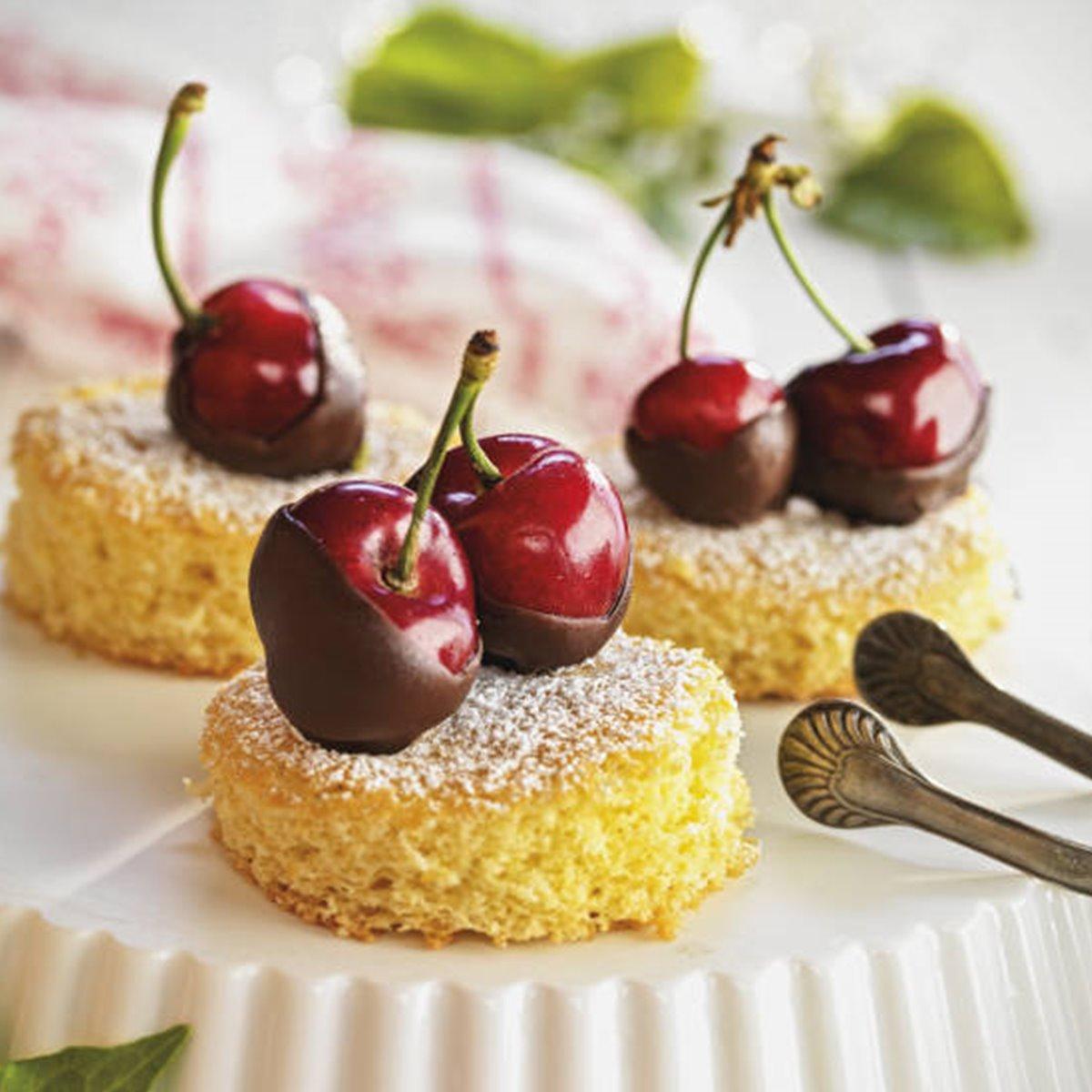 Bocaditos de cereza