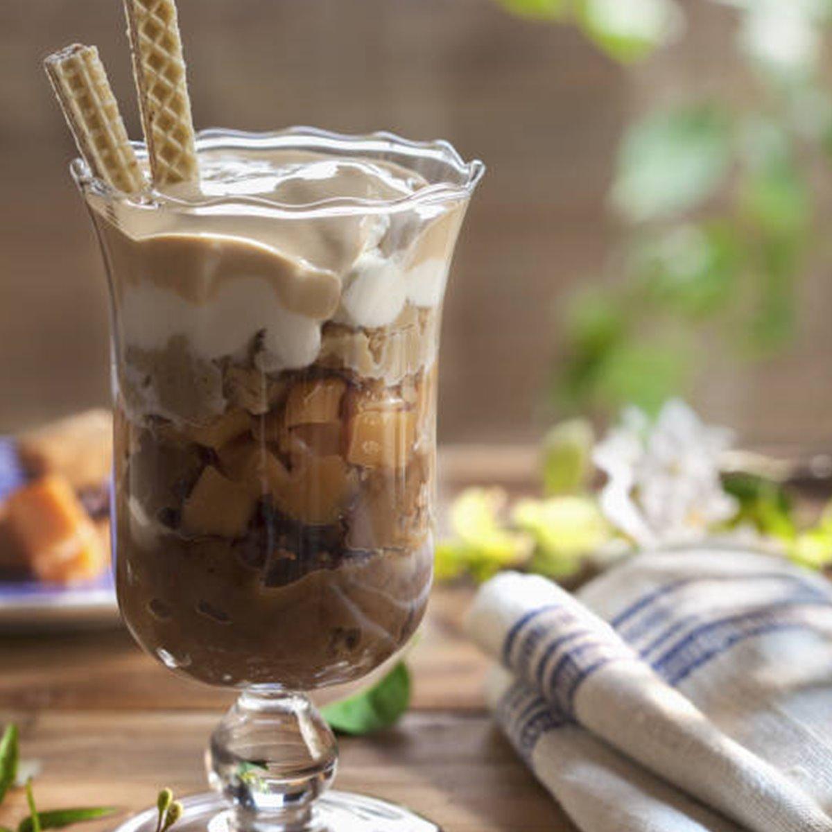 Irish coffee helado