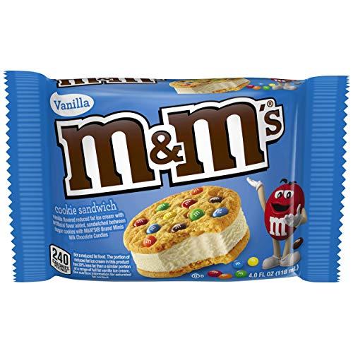 Sándwich de helado individual M & M'S (48 piezas)