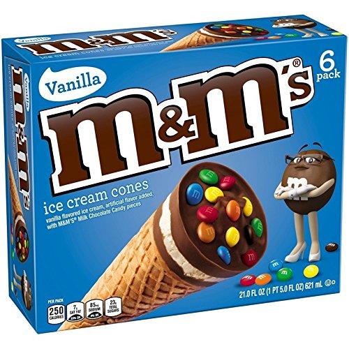 Cono de helado M & M'S 6 piezas (6 piezas)
