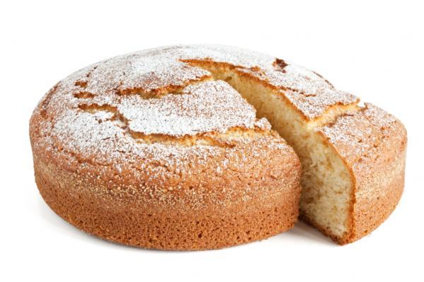 Pastel dulce casero fácil