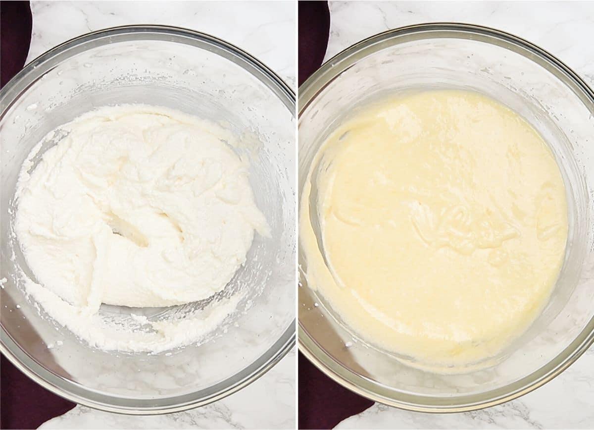 Procese las lentejas para incorporar los ingredientes húmedos.