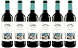 Viñas Del Vero Tinto Cabernet-Merlot-Vin DO Somontano-6 botellas de 750 ml-Total: 4500 ml