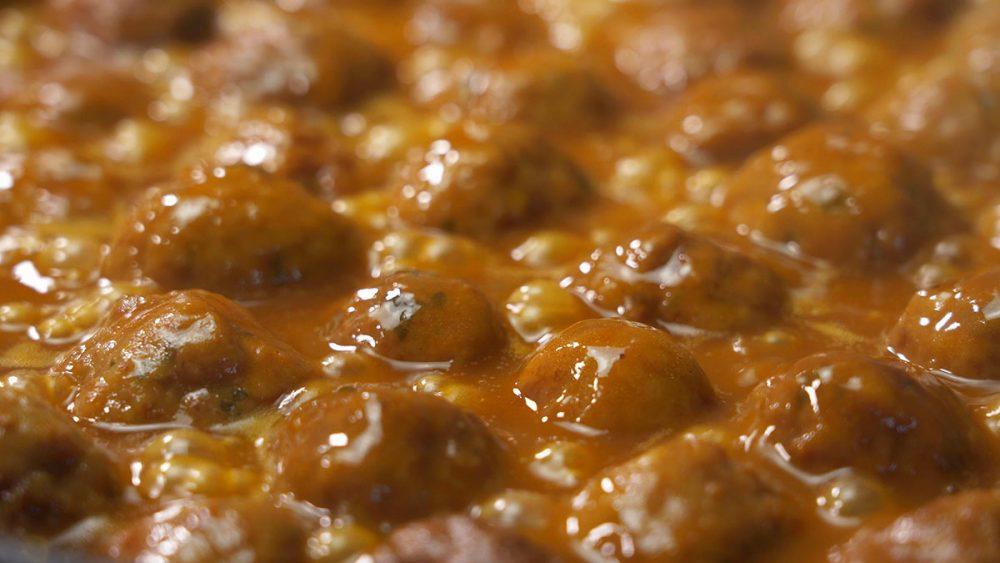 Bolas de pollo al curry - receta deliciosa