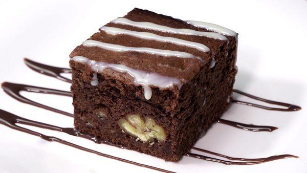 Brownie de castañas