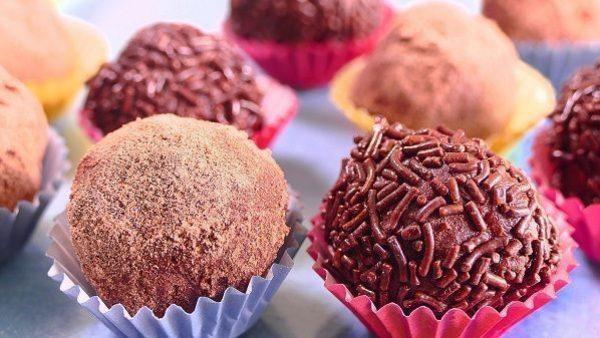 receta de trufa de chocolate